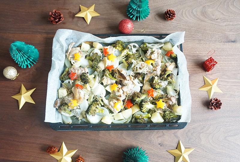 ぎゅうぎゅう焼き レシピ 完成 クリスマスデコレーション