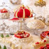 ヒルトン東京マーブルラウンジ「アリスinクリスマス・マジック」デザートビュッフェに行ってみました。