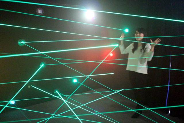 超密室レーザートラップ(原宿)