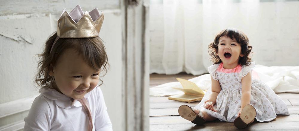 マールマール 王冠型ヘッドアクセサリーCrown  / お食事エプロン