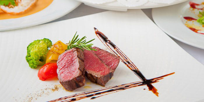 2位 オステリアガウダンテ 神戸ハーバーランド店 料理 牛フィレ肉