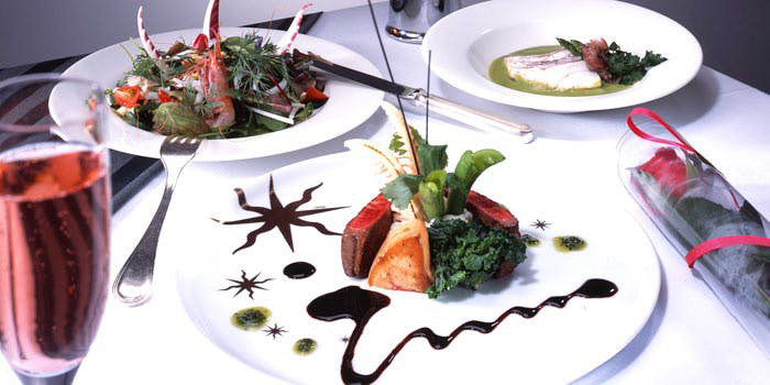 2位 シリウス/横浜ロイヤルパークホテル70階 コース料理