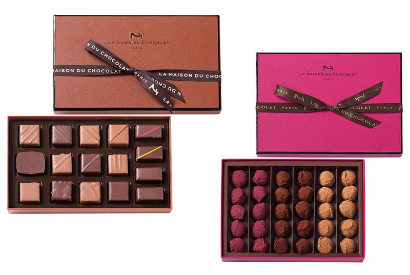 La Maison du Chocolat(ラ・メゾン・デュ・ショコラ)のチョコレート