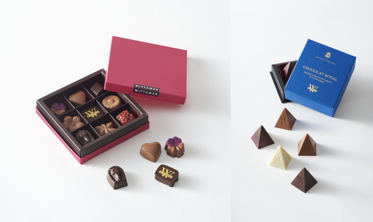 WITTAMER(ヴィタメール)のバレンタインチョコレート