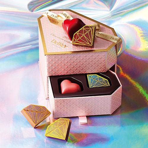 DelReY(デルレイ) 高島屋限定 ピンクゴールドダイヤモンドBOX(6個入)