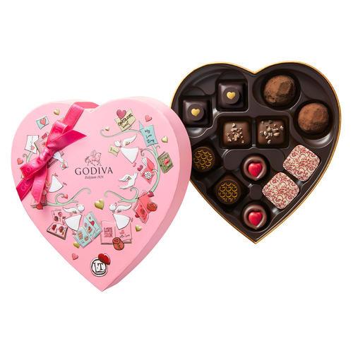 ゴディバ バレンタインチョコレート2020 チョコレート クロニクル スウィート ハート(12粒入)