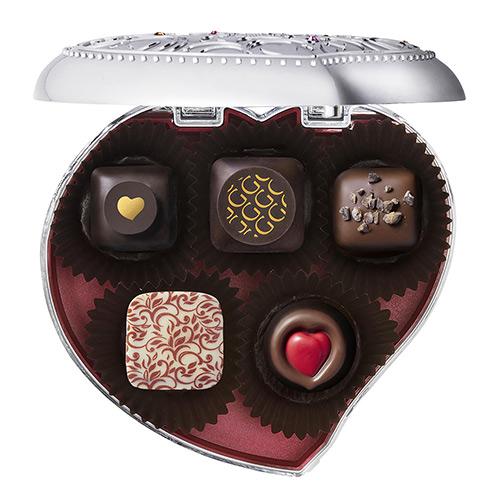 ゴディバ バレンタインチョコレート2020 チョコレート クロニクル スウィート キープセイク(5粒入)