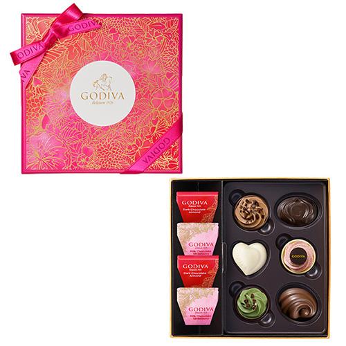ゴディバ バレンタインチョコレート2019 フェアリーケーク アソート 10粒