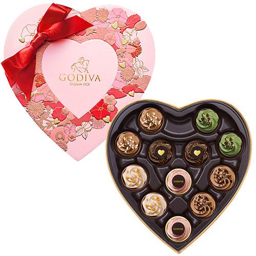 ゴディバ バレンタインチョコレート2019 フェアリーケーク セレクション 12粒