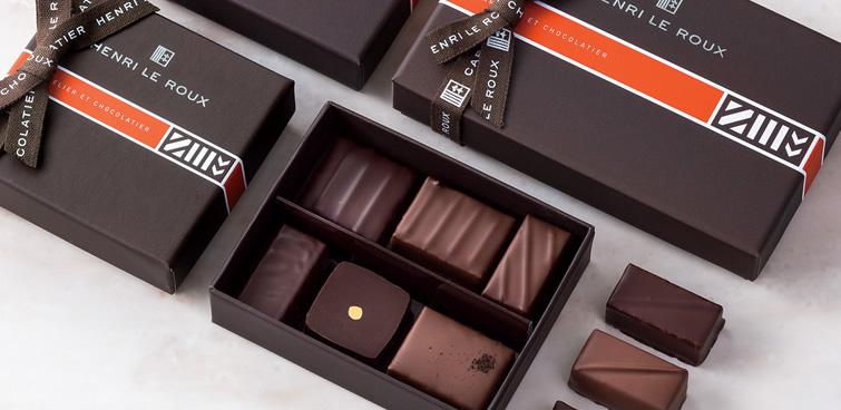 HENRI LE ROUX(アンリ・ルルー)のバレンタインチョコレート