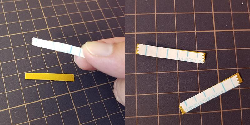 画用紙で作る!簡単ペーパークリスマスツリーの作り方 つなげる