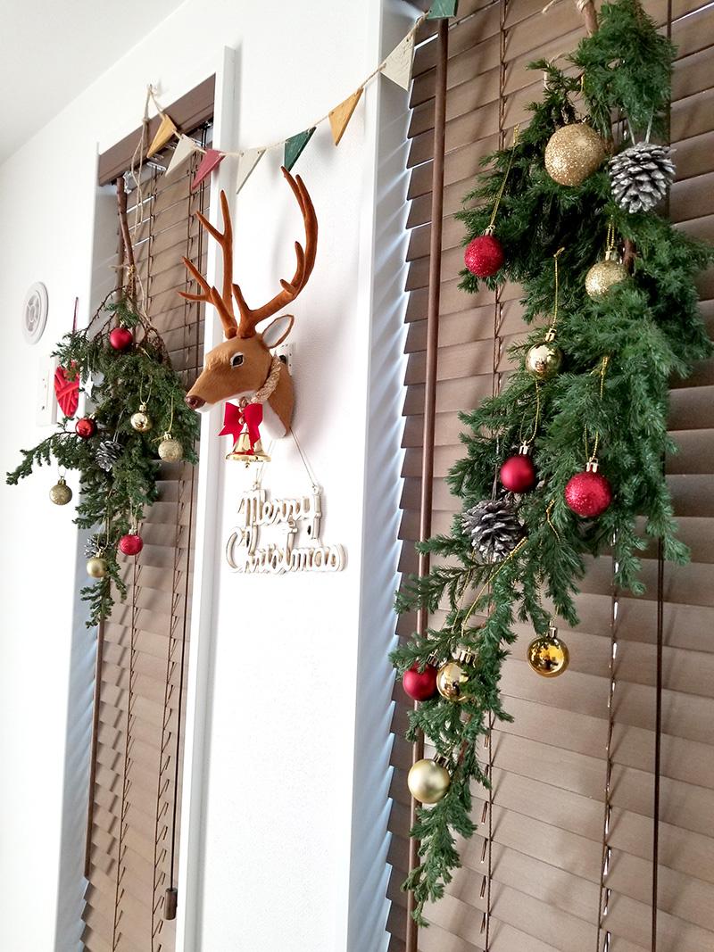 吊るしクリスマスツリー 手作りツリーアイデア