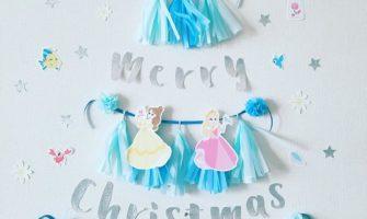 ディズニープリンセスきらきらクリスマスツリー