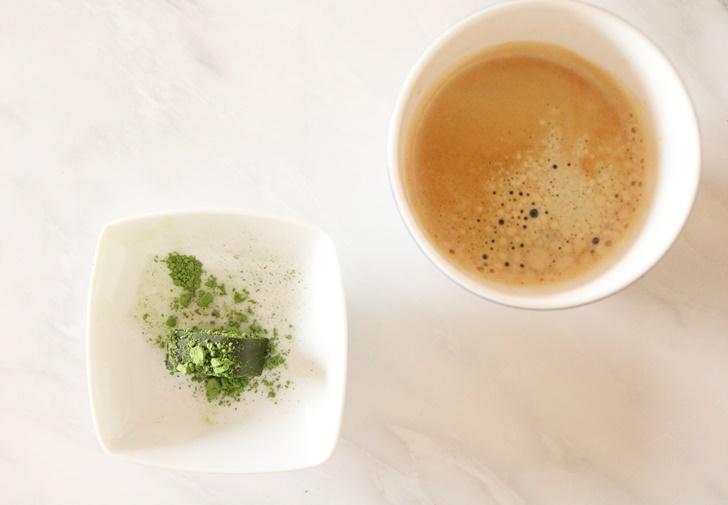 出雲抹茶ショコラテリーヌ コーヒーのお供