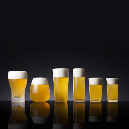 【松徳硝子】ビールグラスコレクション「麦酒盃六種揃」
