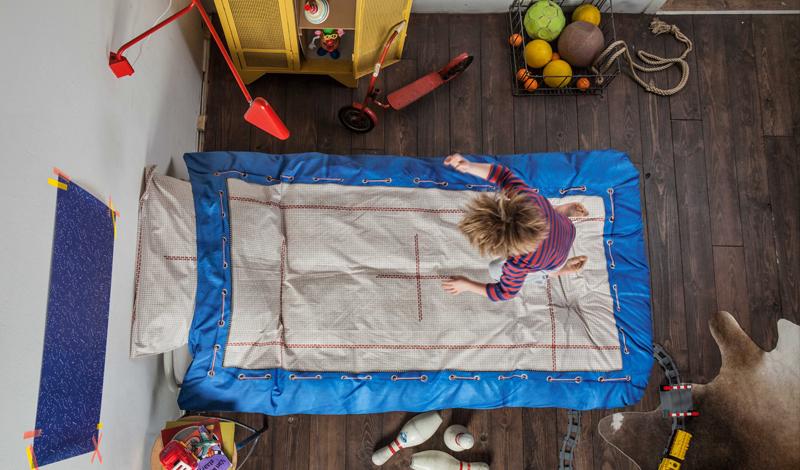snurk トランポリンの布団カバー
