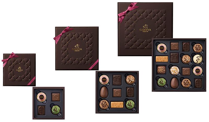 ゴディバ バレンタインチョコレート2019 ベルジアン フェイバリット アソートメント