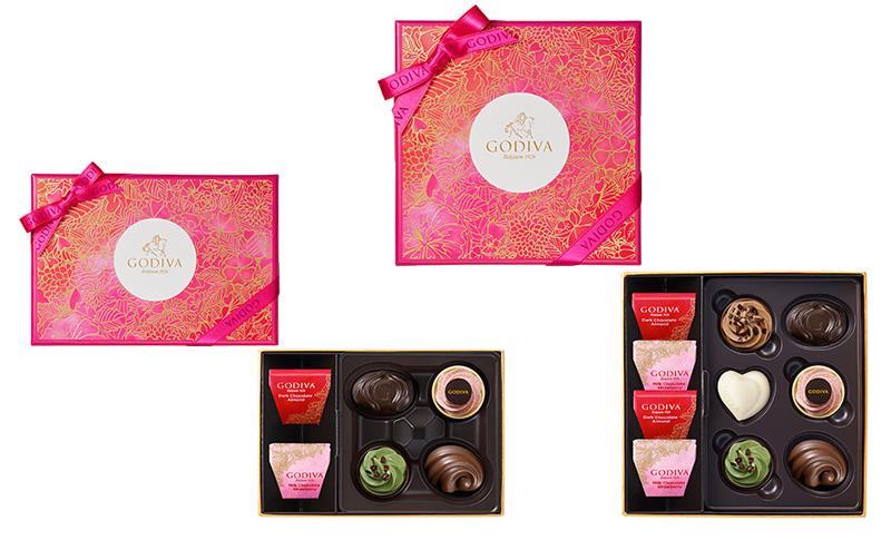 ゴディバ バレンタインチョコレート2019 フェアリーケーク アソートメント