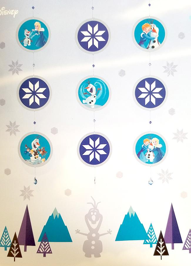 PriPri2019年2月号-1「アナ雪・オラフの窓飾り」