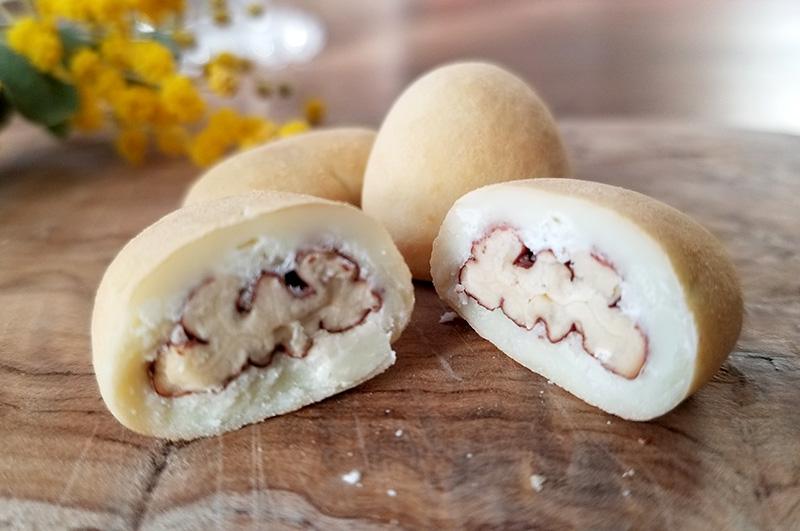 サロンドロワイヤル ピーカンナッツチョコレート キャンディコートピーカンナッツ