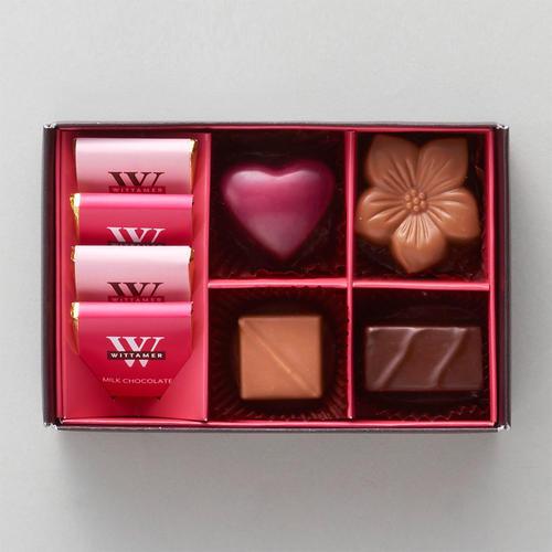 WITTAMER(ヴィタメール) ショコラ・バリエ・ルージュ(8個入)  ルビーチョコレート バレンタイン 話題のチョコ