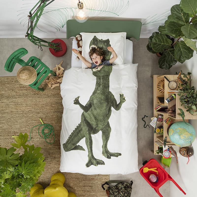 snurk 恐竜に食べられちゃう!布団カバー