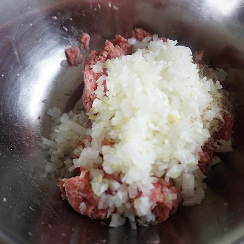 巻かないレンチンロールキャベツ 作り方-3