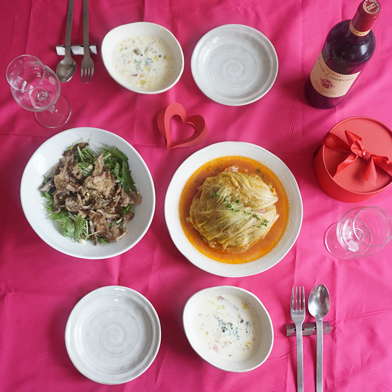 バレンタインに♡30分で作れる、彼が喜ぶ簡単料理メニュー全3品