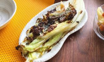 「白菜のグリル アンチョビソース」の作り方