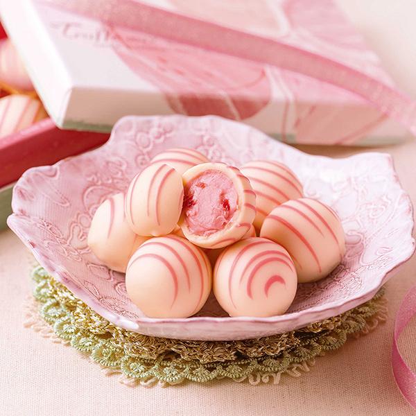 銀のぶどう 苺のトリュフ6個入 ホワイトデーのギフトにおすすめ!大丸松坂屋のスイーツ・お菓子