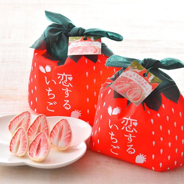 静風 恋するいちご 箱 ホワイトデーのギフトにおすすめ!大丸松坂屋のスイーツ・お菓子