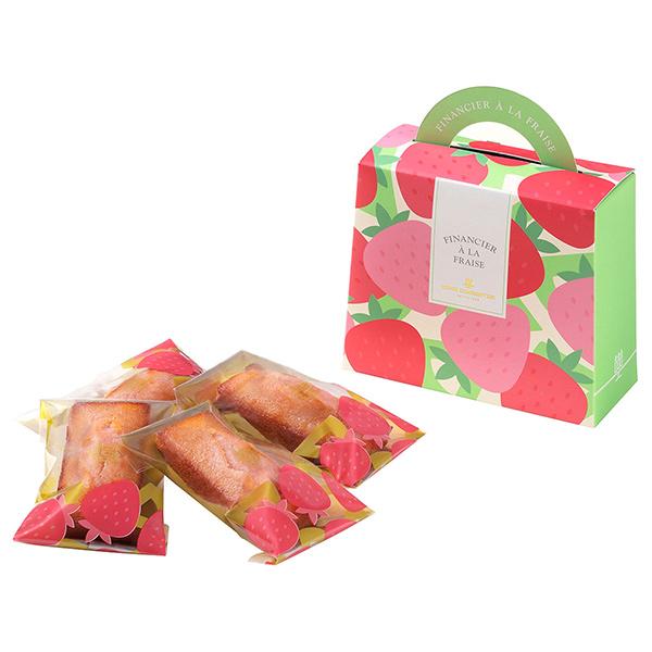 アンリシャルパンティエ いちごフィナンシェ(4コ入り) ホワイトデーのギフトにおすすめ!大丸松坂屋のスイーツ・お菓子