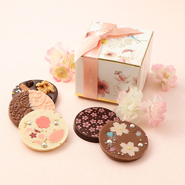 ベル アメール 桜パレショコラ5枚 ホワイトデーのギフトにおすすめ!大丸松坂屋のスイーツ・お菓子