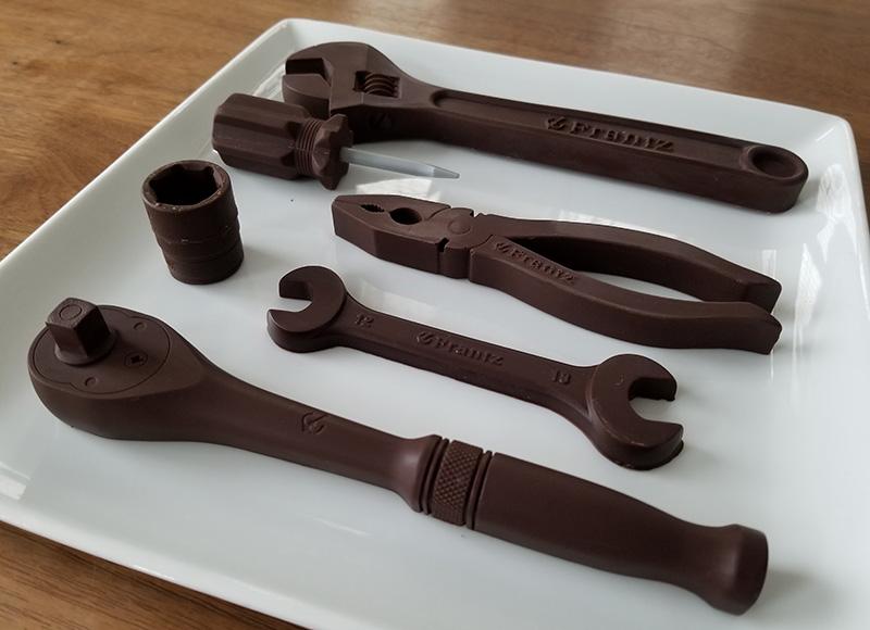 神戸フランツ 工具チョコ 取り寄せ 感想