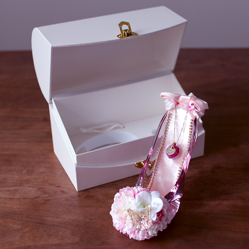 プロポーズ・シンデレラのガラスの靴 桜ピンク 商品レビュー 口コミ 感想