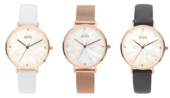 インスタで話題の女性用腕時計ブランド「ALTO(アルト)」