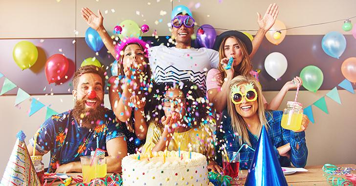 誕生日パーティー
