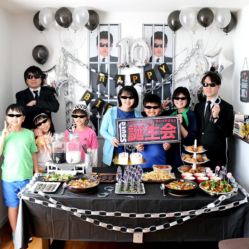 「逃走中」をテーマにした誕生日パーティー演出