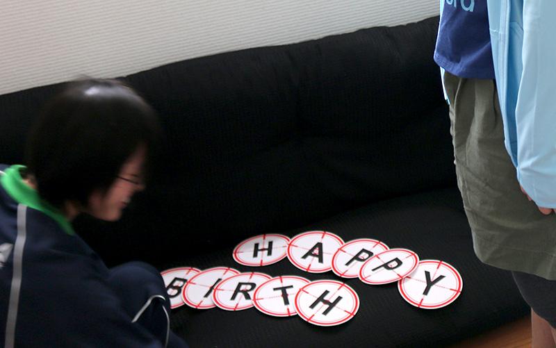 「逃走中」をテーマにした誕生日パーティー アクティビティ パーティーゲーム