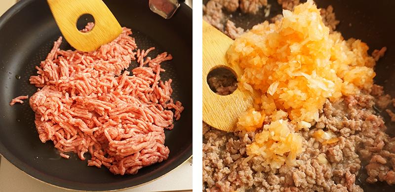 ミートソースの作り方|兜春巻きの作り方レシピ