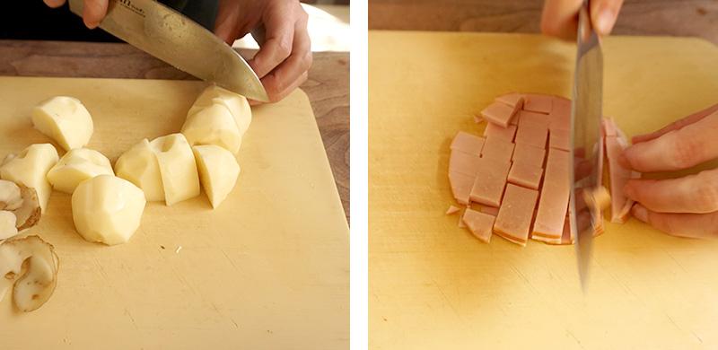 マッシュポテトの作り方|兜春巻きの作り方レシピ
