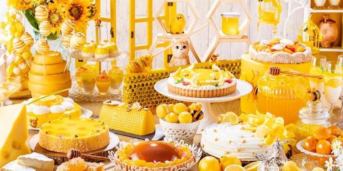 「はちみつ×チーズ」をテーマとしたデザートビュッフェ「Happyハニー・ホリック」/マーブルラウンジ/ヒルトン東京
