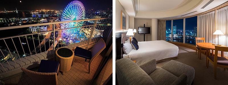 横浜ベイホテル東急 夜景