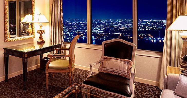 横浜ロイヤルパークホテル  夜景がキレイなホテルランキング