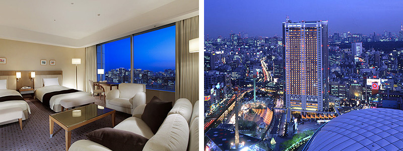 東京ドームホテル 夜景
