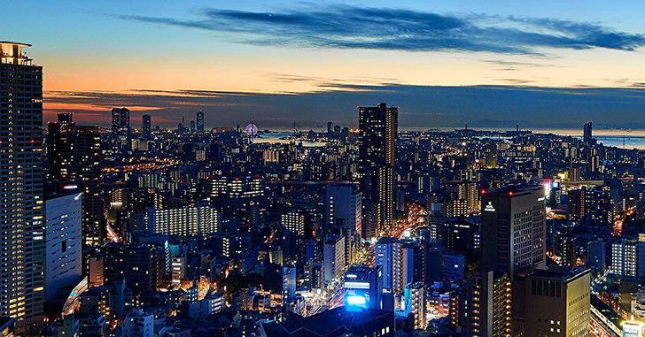 5位 ザ・リッツ・カールトン大阪   夜景がキレイなホテルランキング
