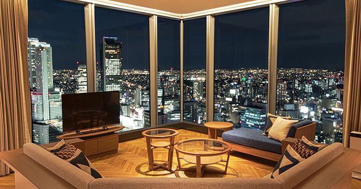 7位|名古屋プリンスホテル スカイタワー  夜景がキレイなホテルランキング