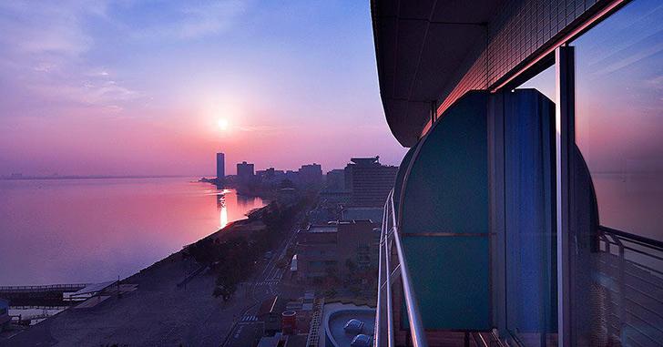 8位|琵琶湖ホテル 夜景がキレイなホテルランキング