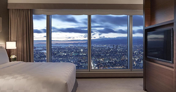 夜景の綺麗なホテル