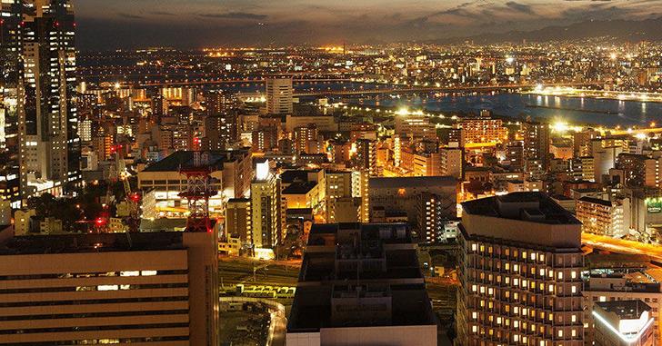 11位|ホテル阪急インターナショナル 夜景がキレイなホテルランキング